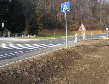 Ureditev prehoda za pešce pri spomeniku 100 frankolovskih žrtev na Stranicah